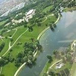 Parco Olimpico visto dalla torre