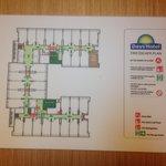 Days Hotel's Floor Plan
