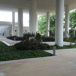 Gardens belolw the Mayan Museum