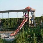 The playground next to it