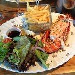 gorgeous lobster skinnyfries