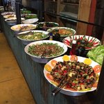 Boas saladas antes dos pratos mineiros