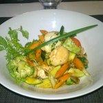 wok de saint-jacques