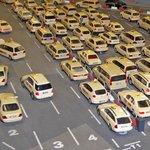 Taxistand am Flughafen