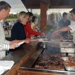 Our Barbeque Area - BBQ service