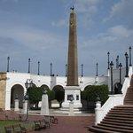 Plaza de las bòvedas donde podrà apreciar en sus bòvedas toda la historia de la construccion del
