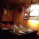 Dining area - semi private