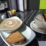 Great coffee and the hearty home made soup are always a Saturday lunch favourite