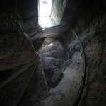 Original spiral stairs from 13th Century