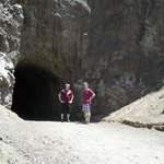 Entrance to the BATCAVE Tunnel