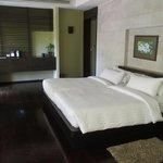De slaapkamer: een bed voor 4 als het moet!