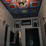 Really nice rooms, with lovely ceilings