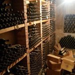 The owners personal wine cellar