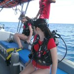 Two D's and our Discover Scuba day