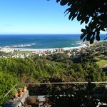 View of Camps Bay from the deck