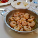 Prawn with Garlic -- Looked simple but really delicious