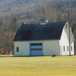 Our Big Yellow Barn you see from the road
