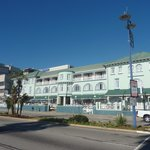 Pic of the hotel from the promenade opposite