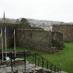 Castle interior walls