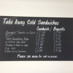 Sandwiches to take away