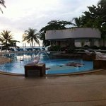 the pool which very near to Chaweng beach