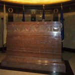 Lincoln's Stone above his resting place