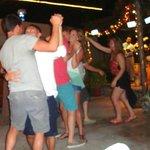 Dancing like fools