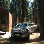 Proximity of the cabins