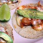 Cactus Tacos (with pork leg)