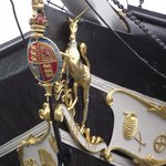 Great Britain bow detail.