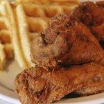 fried wings & waffles