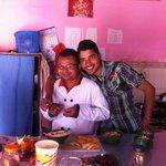 Serdu and Narayan - resident cooks =)