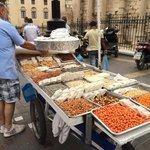 Vendor on Monastirike Square