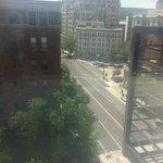 Vista do 8º andar
