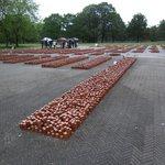 102.000 stenen symboliseren de slachtoffers