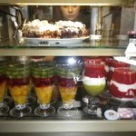 Choices of fresh fruits mix