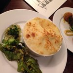 Homemade fish pie from the specials menu