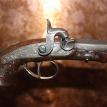 Gun that killed Lincoln. Single shot derringer.