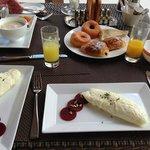Breakfasts are amazing!
