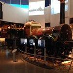 1階蒸気機関車