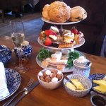 Our wonderful afternoon tea