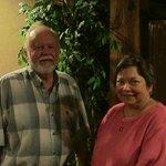 Two Happy Customers at Mamacitas!