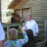 Our Barnyard interpreters love to share thier knowledge.