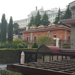 View from the court yard at Hotel Colonne!