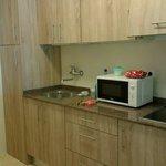 New kitchen in 205.