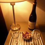 a bottle of Provence wine in a room