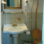 Old style, ornate bathroom