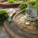 Miniature Train display.