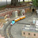 Another miniature train.