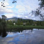 View of Mt Abe from our swimming pond by Ross Bachelder